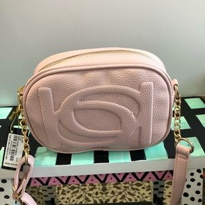 Authentic Bebe Crossbody Blush Pink NWT